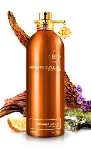 Orange Aoud MONTALE. Zapach otwiera mieszanka bergamotki i pikantnego oudu, pod którą tętni paczula i szyprowe kwiaty. Zmysłowa i ciepła baza zbudowana została z mchu dębowego, skóry i białego piżma. Rodzina zapachowa: drzewna #montale