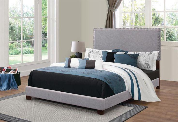 Mejores 37 imágenes de Upholstered Bed en Pinterest | Camas ...