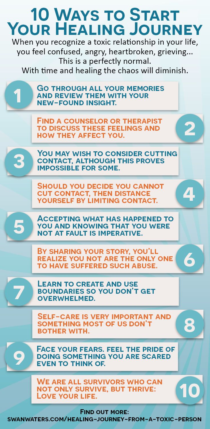 10 steps to end a toxic relationship