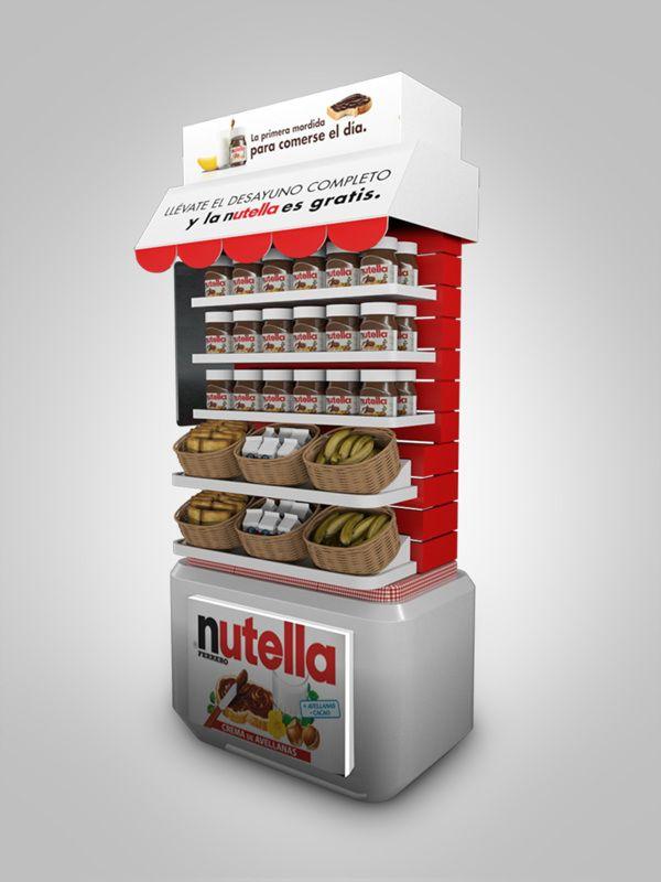 Nutella on Behance