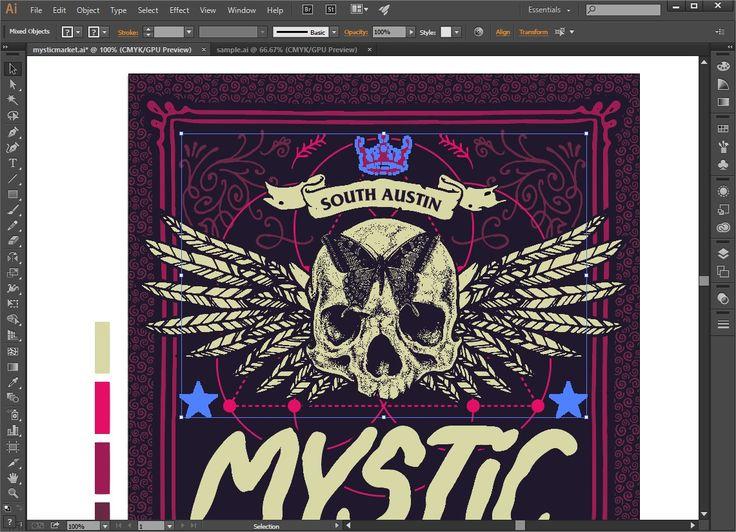 Design a Mystic Event Poster in Adobe Illustrator « Design Cuts