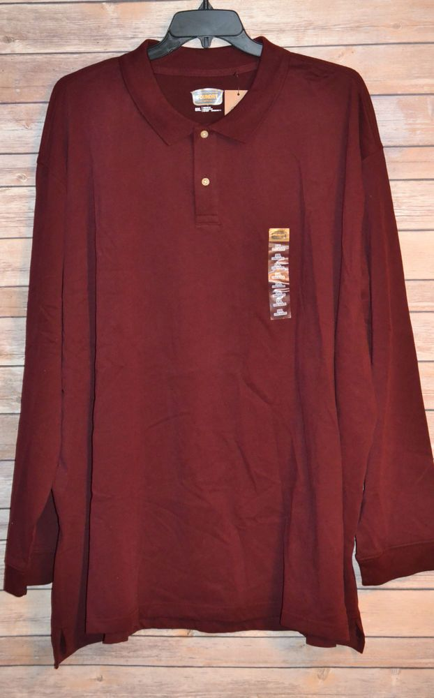1000 images about big tall men s wear on pinterest for Big and tall men s long sleeve polo shirts