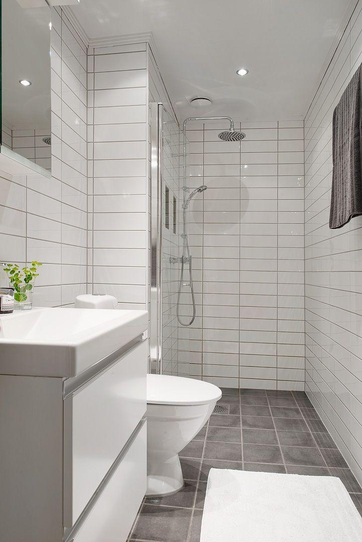Totalrenoverat badrum med tidlösa material Badrum Pinterest Badrum och Inredning
