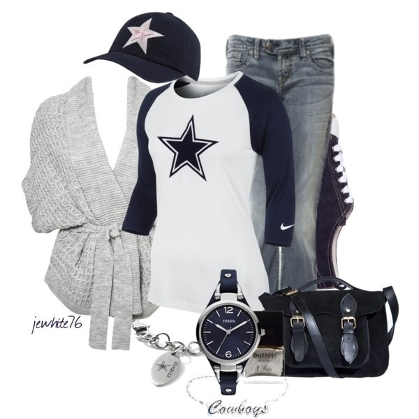Cute outfit for football season :) Love it!