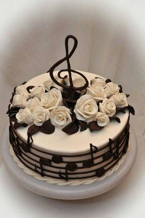 Cake for the musically inclined