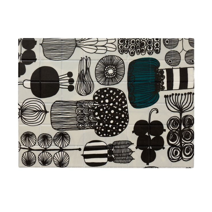 Puutarhurin Parhaat coated cotton placemat