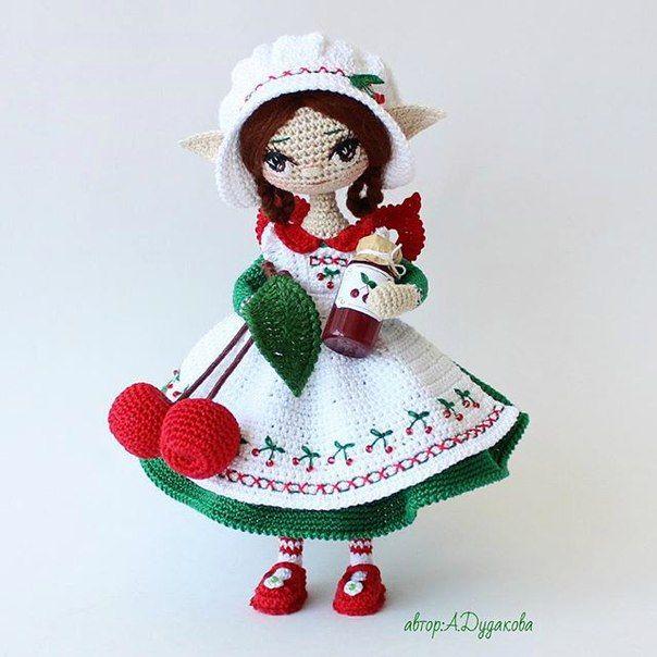 Simple Amigurumi Doll : 1791 best images about amigurumi on Pinterest Yummy ...
