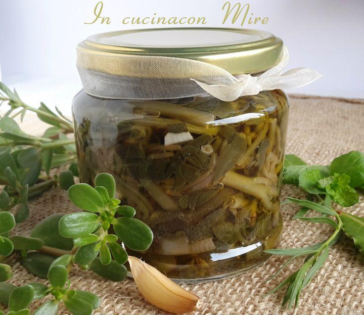 #gialloblogs #ricetta #foodporn #appetitosoPortulaca sottaceto-ricetta   In cucina con Mire