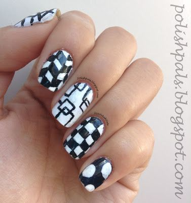 Mix & match nails <3