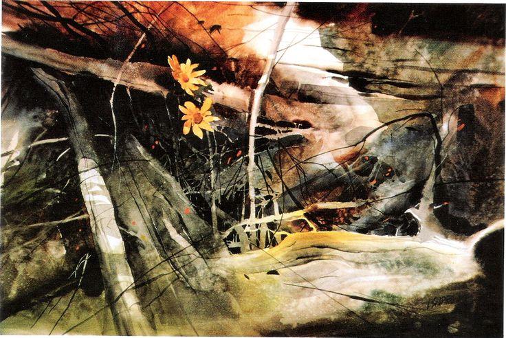 Wild Ones - Irving Shapiro - watercolor | Watercolor ...