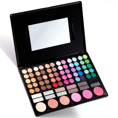 Trusa Farduri 78 culori cu blush Fraulein38 Natural Beauty