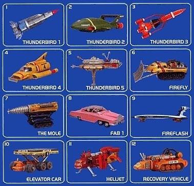 Thunderbird Vechicles