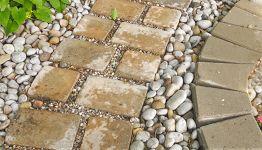 V di... Vialetti da giardino: idee per sentieri, camminamenti e pavimenti con pietre e legno