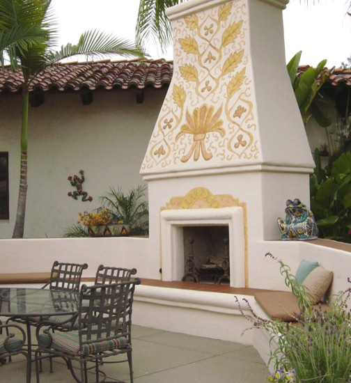 Mexican Style Outdoor Fireplace Design Beautiful Mexican Culture I Am Pinterest Fireplaces