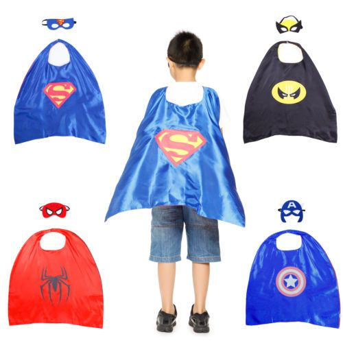 Children kids #superhero #fancy dress costume cape mask #super hero #outfit dress ,  View more on the LINK: http://www.zeppy.io/product/gb/2/361844816214/