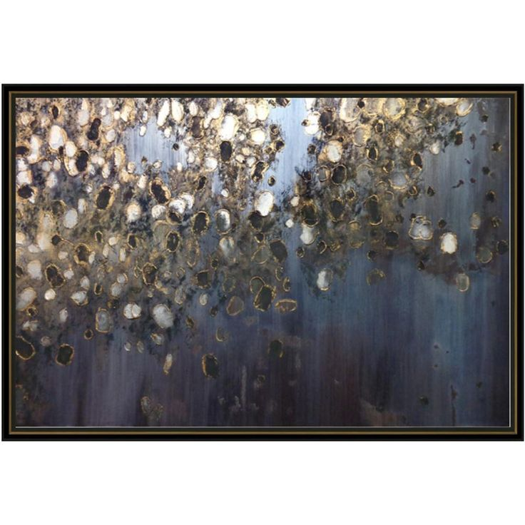 Leftbank art meteor shower framed