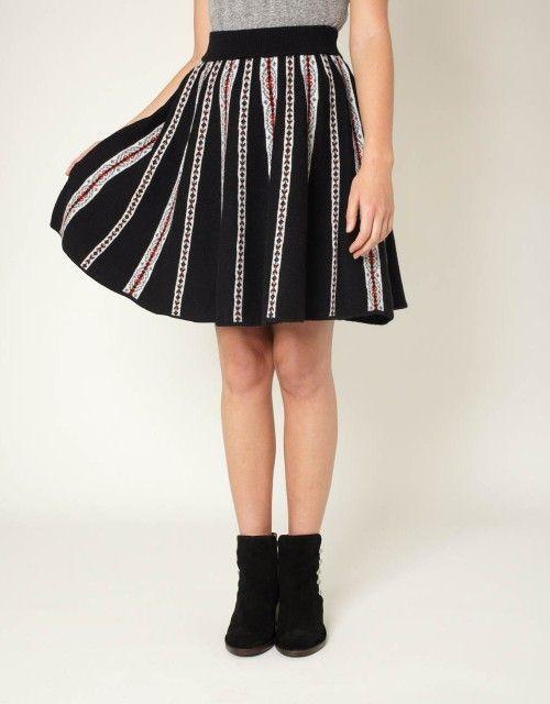 163 best KNIT♀ - skirt images on Pinterest | Dress skirt, Skirts ...