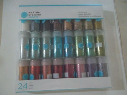 MARTHA-STEWART-CRAFTS-24-COLORS-GLITTER-SETS-MULTI-COLORS