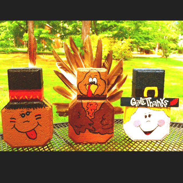 Adorable Paver Centerpieces. Available for $14.99 a piece or $40.00 for the set plus shipping. Email me at motherof2angels57@yahoo.com for more info or more pics of individual Pavers.