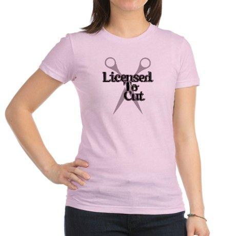 Licensed Shears Shirt on CafePress.com