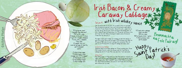 Traditional Irish Bacon, Creamy Cabbage & Whiskey Sauce by Ailbhe Phelan for TDAC