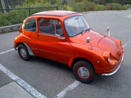 1970 Subaru 360 Totally restored 20,000 original miles (hmm, nice color to keep in mind for our project)