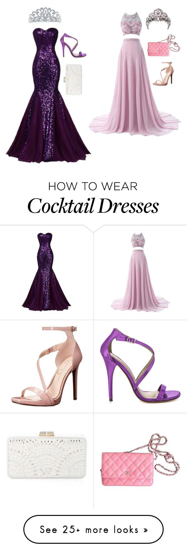 """""""Ana and Ezrah Prom"""" by savannahnicolegrobstick on Polyvore featuring Michael Antonio, BCBGMAXAZRIA, Bling Jewelry, Chanel and Jessica Simpson"""