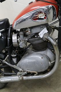 OldMotoDude: BSA project for sale for $4,500 at the 2018 Denver Motorcycle Expo