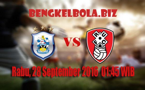 Prediksi Huddersfield Town vs Rotherham United 28 September 2016