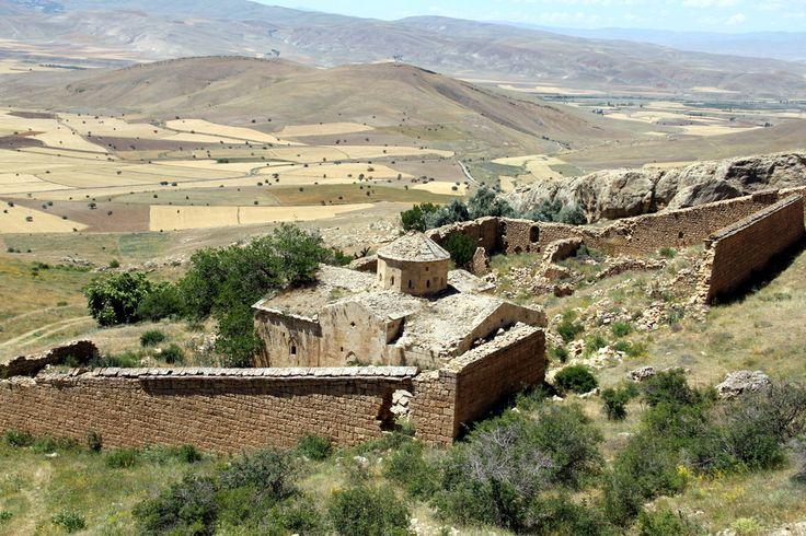 Surp Davit (Abrank) Ermeni Manastırı- Üçpınar Köyü-Tercan-Erzincan-2013-NH