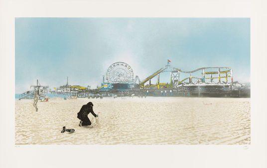 Nick Walker http://www.kunsthaus-artes.de/de/789940.00/Bild-Santa-Monica-The-Morning-After-2013/789940.00.html#q=Nick%20walker&start=1