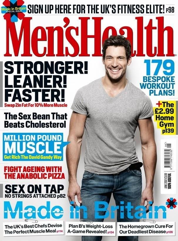 Men's Health - Men's Health UK June 2012 Cover