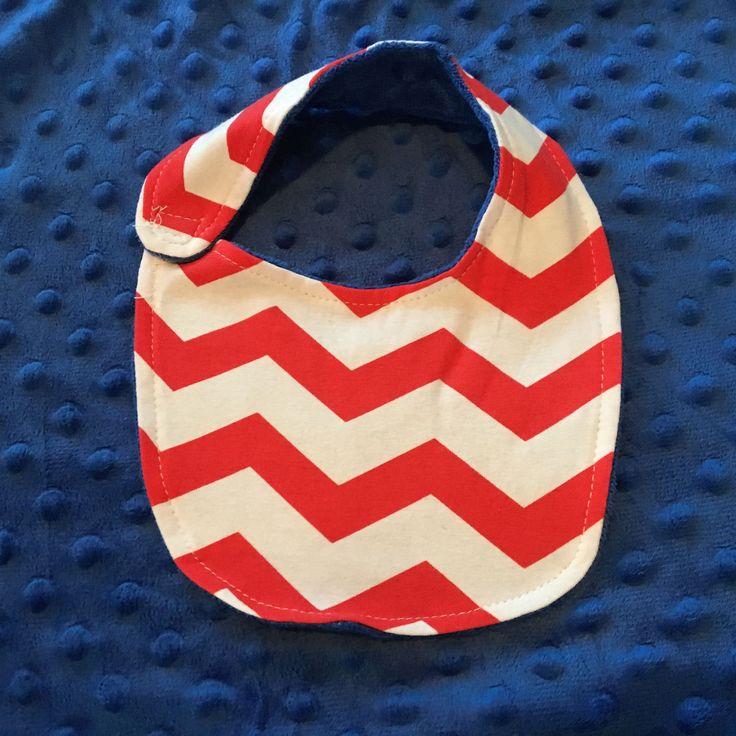 Custom Blanket and Bib Set, Personalized Bib and Blanket, Personalized Blanket, Custom Baby Gift, Baby Shower Gift, Chevron Baby Shower