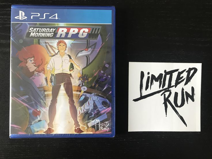 Got a sealed copy of saturday morning rpg