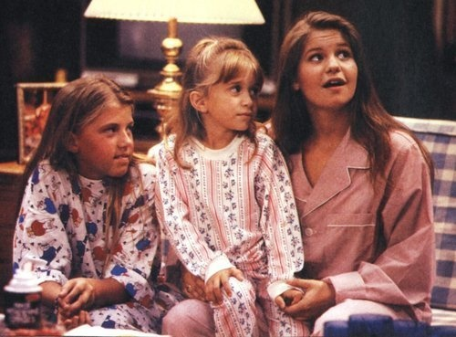 The Tanner girls from Full House.