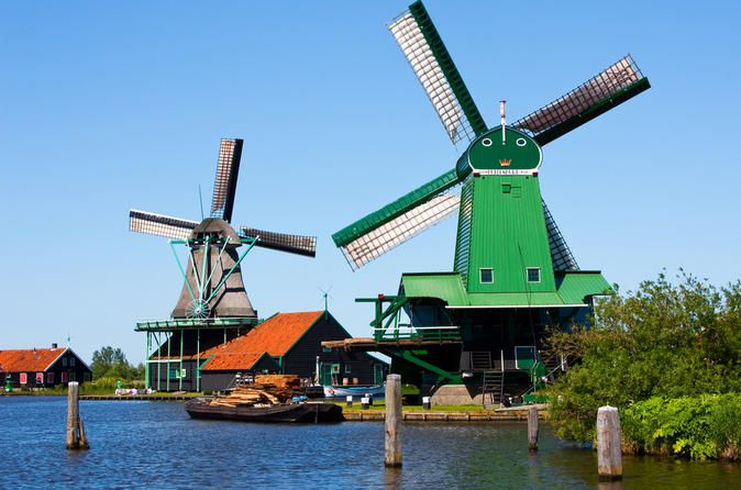 Amsterdam Super Saver: Zaanse Schans Windmills, Delft and The Hague Day Trip - Lonely Planet