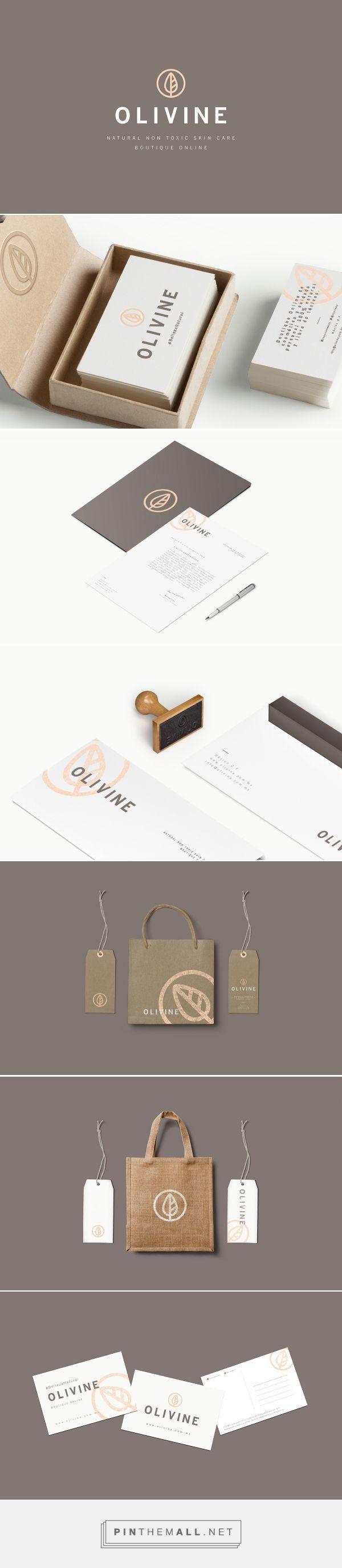 OLIVINE on Behance | Fivestar Branding – Design and Branding Agency & Inspiration Gallery  http://jrstudioweb.com/diseno-grafico/diseno-de-logotipos/