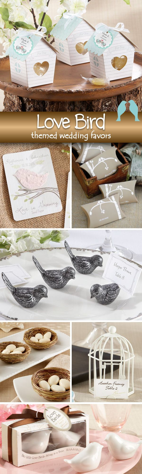 75 Amazing Love Birds Themed Wedding Favors