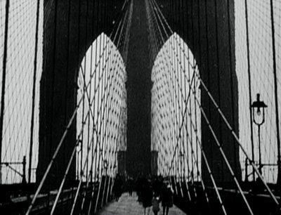 "Paul Strand, ""Brooklyn Bridge,"" 1921 (from the film, ""Manhatta"" by Paul Strand and Charles Sheeler)"
