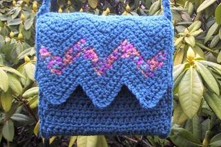Chervron Bag: free pattern