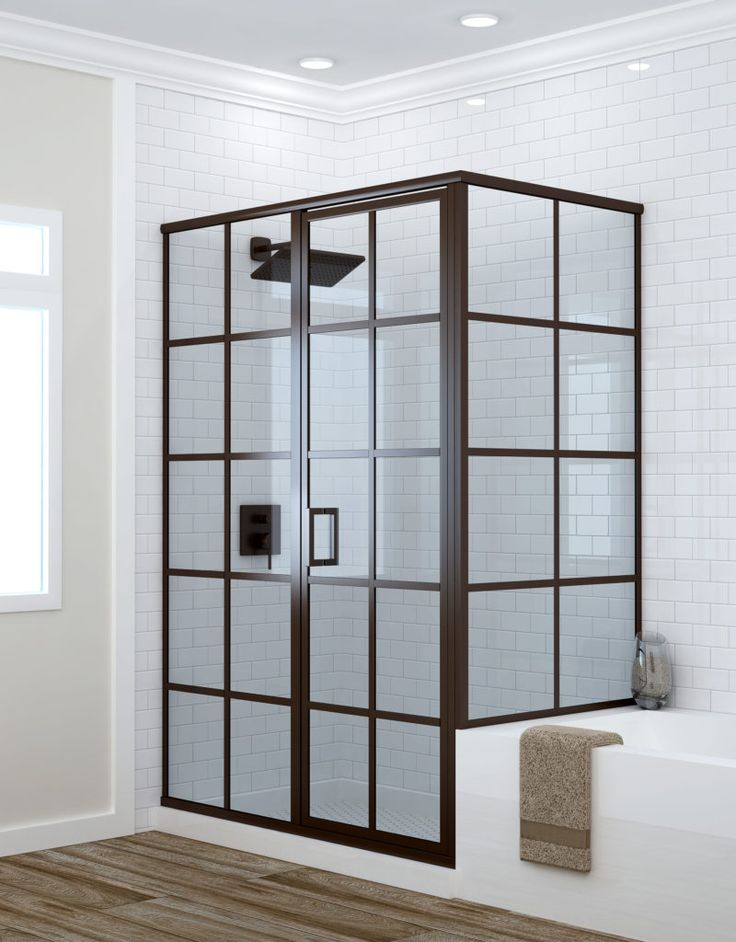 Grallcrafters Metropolis Series Framed Shower Doors