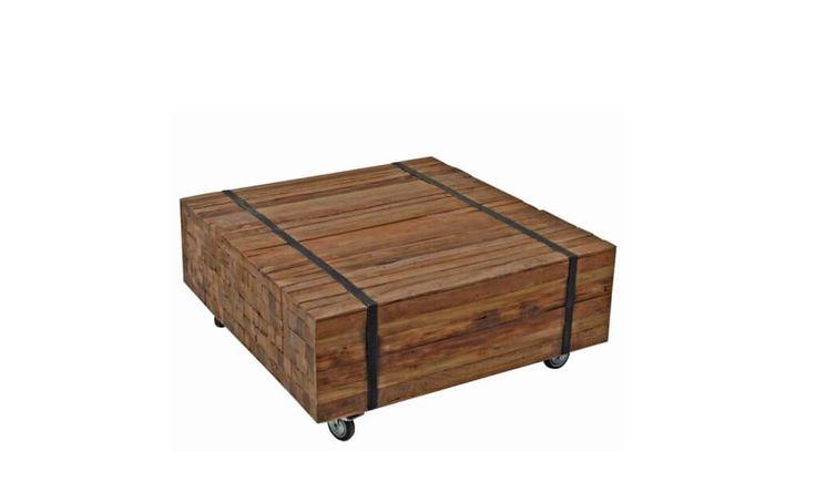 Bekijk onze Ozzy 60cm salontafel van Brix collection in natural teakhout. Stoere en industriele salontafels in diverse afmetingen in stoer teak.