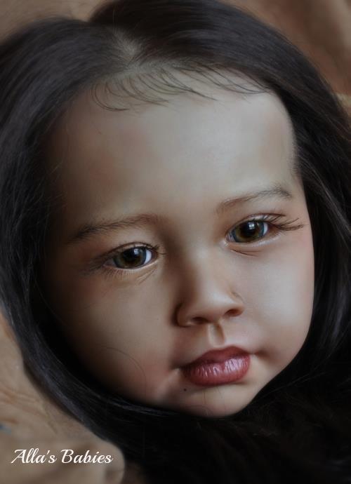 Jannie de Lange doll  reborned by my friend, the very talented Alla Cox <3