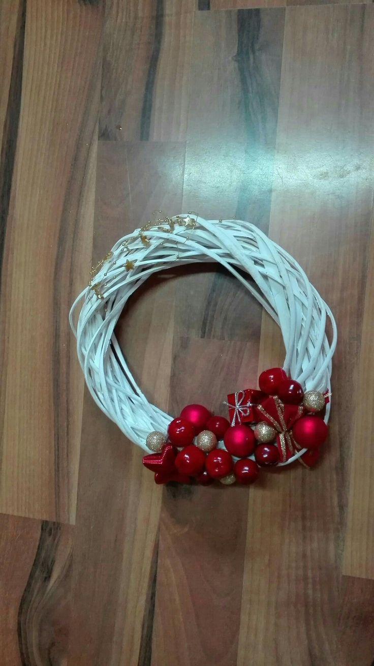 věnec na dveře, Christmas decoracion