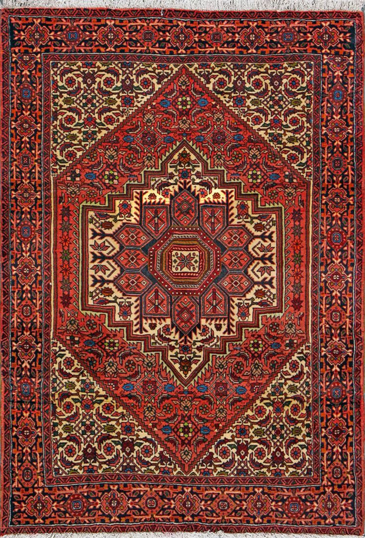 Bijar Persian Rug 3 X 4 10 Authentic