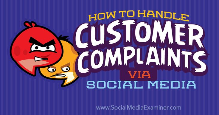 Are your customers leaving negative comments on social media? Find out how to deal with negative comments on social media.