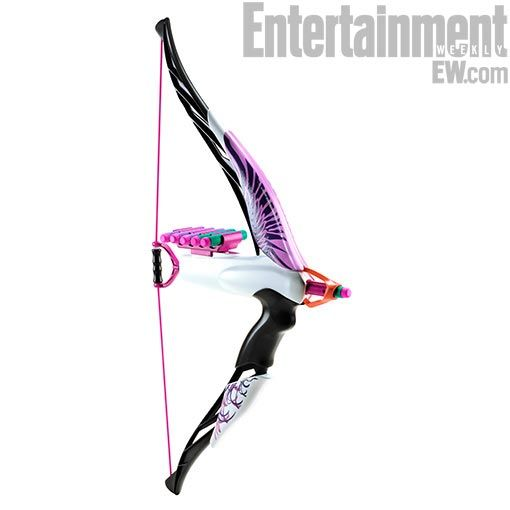 NERF's new Rebelle line of toys for girls features the Heartbreaker Bow, I will be getting one of these for Maysen!!