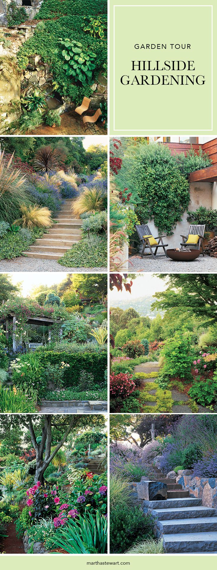 top 25+ best landscaping a hill ideas on pinterest | sloped yard