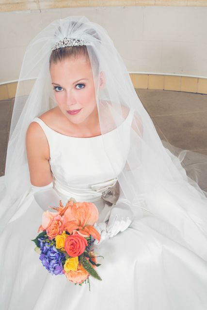 A bride fit for a king www.gilingandwhitebridal.co.uk www.knightonflowers.co.uk