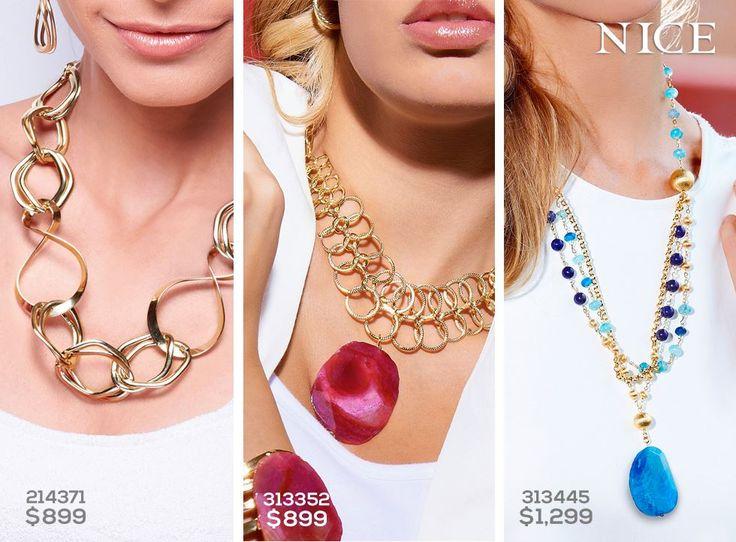NICE. Los collares son el accesorio perfecto para acentuar un look.